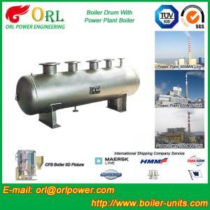 Low Pressure Alloy steel drum Boiler Mud Drum TUV with 10~1000ton Manufactures