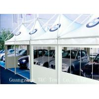 Car Exhibition Trade Show Tents Digital Printing With Hard Pressed Extruded Aluminum Alloy Manufactures
