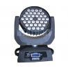 Dj Lights LED Wash Moving Head , 36x10w Led Moving Head Light 50000 Hours Lifespan Manufactures