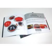 OEM Tri Fold Brochure Color Booklet Printing Service for company advertising Manufactures