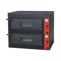 Black Painting Electric Pizza Baking Oven With 2 Layer 2 Tray 910x820x750mm Manufactures