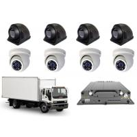 Buy cheap 3G4G FHD 1080P Mobile DVR 8CH Vehicle Recorder 8 MDVR Cameras Realtime Monitoring from wholesalers