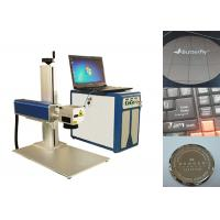 China Fiber Laser Marking Machine , Portable Laser Marking Machine 100000 hours lifespan on sale