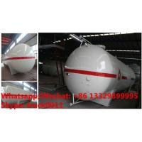 Buy cheap Factory sale competitive price CLW brand 20MT surface propane gas storage tank, 2018s best selling 40m3 bulk lpg tank from wholesalers