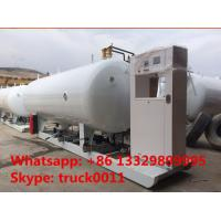 ASME standard 20m3 skid-mounted lpg gas plant, hot sale best price 8 metric tons mobile skid-mounted lpg gas station Manufactures