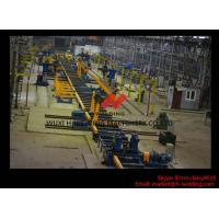 High Speed Column-beam H-beam Automatic Welding Machine With Flux Feeding System Manufactures