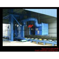 Roller Type H Beam Sand Blasting Machines With 8 Shot Blaster And Dust Collection System Manufactures