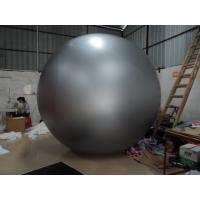 Gray Pvc Inflatable Advertising Balloons Round 3m Diameter Ball Manufactures