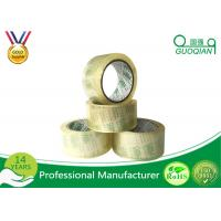 Single Sided  Adhesive Crystal Clear BOPP Packing Tape for Carton Sealing Manufactures