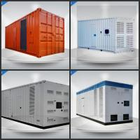 Super Quiet  Perkins Container Generator Set 1400 Kw With Large - Capacity Air Cleaner Manufactures