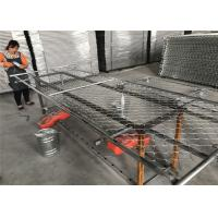 "6'x10' temporary chain link fence panels 1½""(38mm) wall thick 15ga/1.80mm mesh opening 2¼""x2¼""(57mmx57mm) Manufactures"