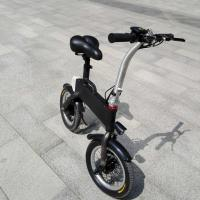 CE FCC Certification 36v 400w Folding Electric Bicycle , Fold Up Electric Bike Manufactures
