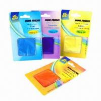 Buy cheap New Membrane Funny Air Freshener for Car, Customized Fragrance Levels and Colors from wholesalers