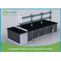 Solvent Resistant Science Laboratory Furniture With Water Sink and Splash Manufactures