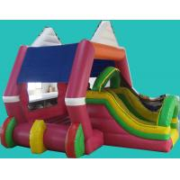 Cool Amusement Park Inflatable Sports Game , Children Bounce Houses Manufactures