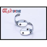 Quality Chrome Plated Cloth Hanging Hooks Solid Cap Holder Durable Home Furniture Hardwares  Fittings for sale