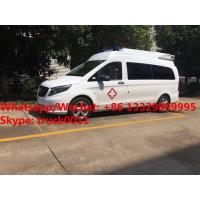 Quality 2017s new BENZ VITO gasoline engine transporting ambulance vehicle for transporting for sale, Benz ambulance for sale for sale