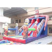 Fire Retardanthave Inflatable Slip And Slide Spider - Man Theme Manufactures