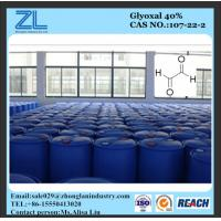 Glyoxal as wet strength agent for paper Manufactures