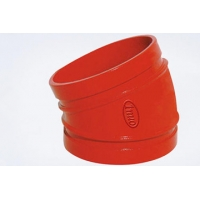 90 Degree GGG450 PN10 DN60 Drain Ductile Iron Elbow Manufactures
