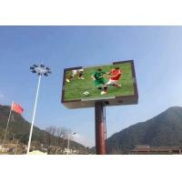 Clear Video LED Outdoor Digital Billboard Grey Cabinet  Signs With Crystal Manufactures