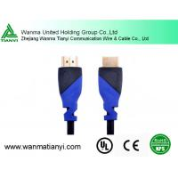 High Speed 4K HDMI Cable with Ethernet black/blue mold Manufactures