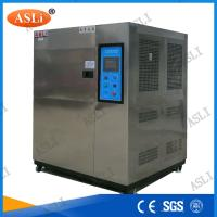 Cold And Hot Thermal Shock Chamber , Thermal Test Chamber Water Cooling Manufactures