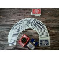 Durable Casino Playing Cards Custom Printing Poker Size Paper And Pvc Material Manufactures