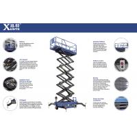 Quality Max Height 10m Scissor Lift With Motorized Device Loading Capacity 300kg for sale
