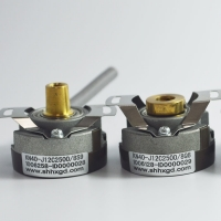 ABZ Phase Incremental Type Encoder KN40 NPN Signal Line Driver Output Manufactures