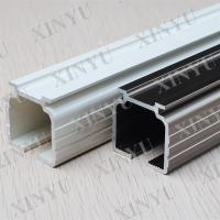 Wooden Grain European Fixed Aluminium Sliding Door Profiles Consist with Turn / Tilt Door Manufactures