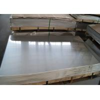 Quality Mill / Slite Edge Stainless Steel Metal Sheet ,  EN GB JIS Food Grade Stainless Steel Sheet for sale
