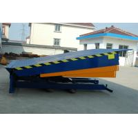 Stationary Type Loading Dock Ramp for Loading Cargo , 10000Kg Manufactures