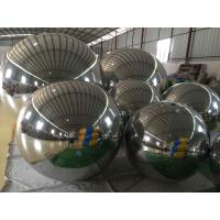 Mall / Supermarket Inflatable Mirror Ball Plato PVC Tarpaulin 3 Years Warranty Manufactures