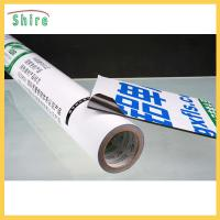 Black and White PE Aluminum Panel Protective Film For Aluminum Plate Blue Color Manufactures