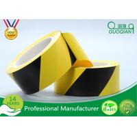 Custom PE Warning Tape For Road / Floor Marking Single Side Environmental Protection Manufactures