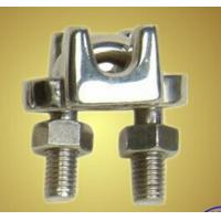 Drop Forged Metal Steel Wire Rope Clamp for Lifting Galvanized Surface Manufactures