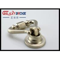 Quality Shakeable Wine Cabinet Ring Pulls , Brushed Satin Nickel / Zinc Alloy / Brass Ring Pull for sale