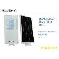 Buy cheap Bridgelux Energy Solar Powered LED Street Lights Discharge Time 4 Rainy Days from wholesalers