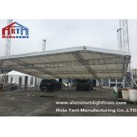 6082-T6 Aluminum Alloy Aluminum Square Truss System Arch Shape Hanging LED Screen Manufactures