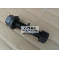 Heavy Truck Dongfeng Desel Engine Rear Wheel Bolt with Cap Steel Material Black Manufactures