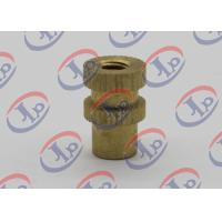 Buy cheap Lathe Turning Turned Metal Parts , Brass Knurled Thumb Screws For Furniture from wholesalers