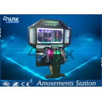 Commercial Coin Operated Shooting Arcade Machines With Vivid Game Manufactures