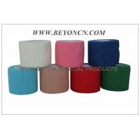 Cotton Cohesive  Elastic Bandage Latex free Hand Tearable , Self Adhesive Manufactures