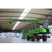 Aticulated Portable Boom Lift 27m Platform Height With Diesel Engine Manufactures