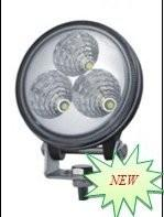 High Lumen 9W Led Driving Lights Flood bulldozer LED Lamp IP67 Waterproof Manufactures