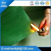 100% Polyester with PVC coated Fire Resistant Fabric Manufactures