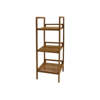 3 Tiers W30cm H78cm Bamboo Shelves Furniture Manufactures