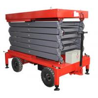 Buy cheap 12 Meters Hydraulic Mobile Scissor Lift for Work Shop , Theatre from wholesalers