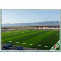 Professional Football Fake Turf  Anti - UV Monofilament PE Fake Grass For Outside Manufactures